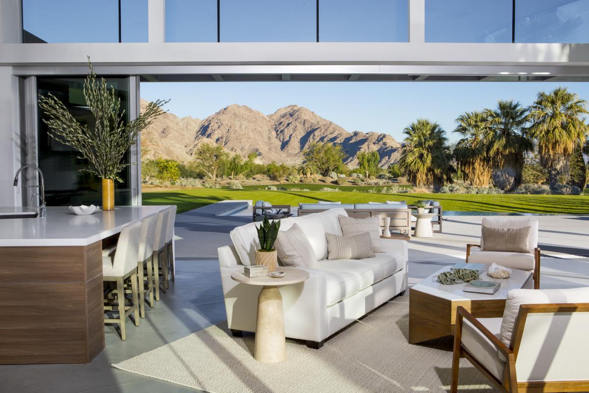 modern desert interior design